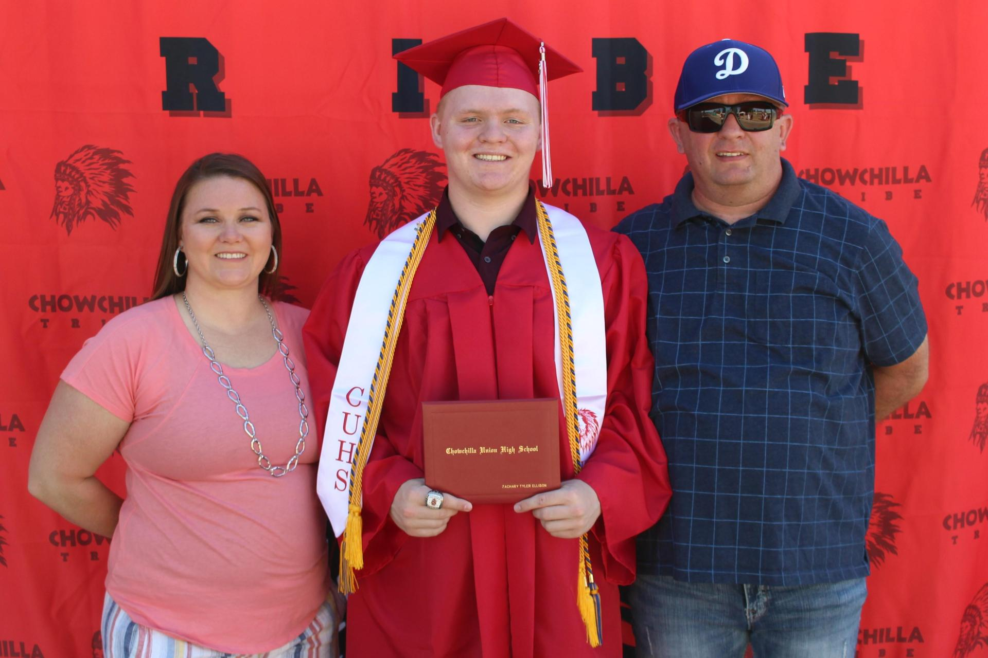 Zachary Ellison and family