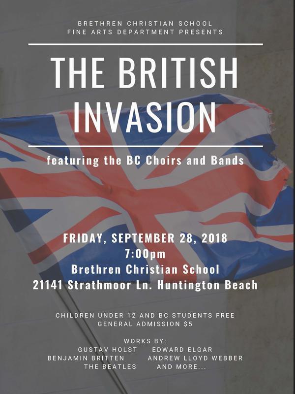 British Invasion at BC! Featured Photo