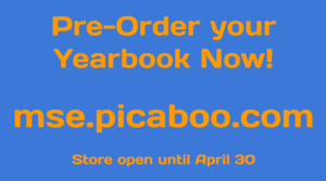 Preorder Your Yearbook
