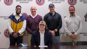 Gavin Taylor, center seated