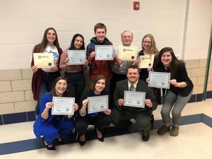 Speech League Group Photo