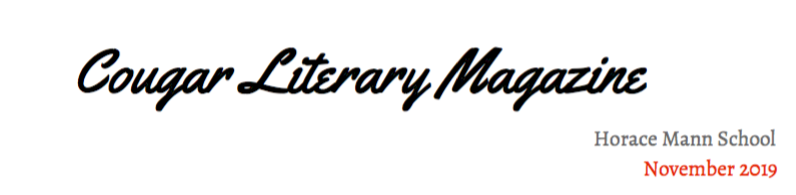 Literary Magazine Fall 2019