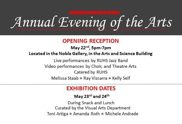 Annual Evening of the Arts Featured Photo