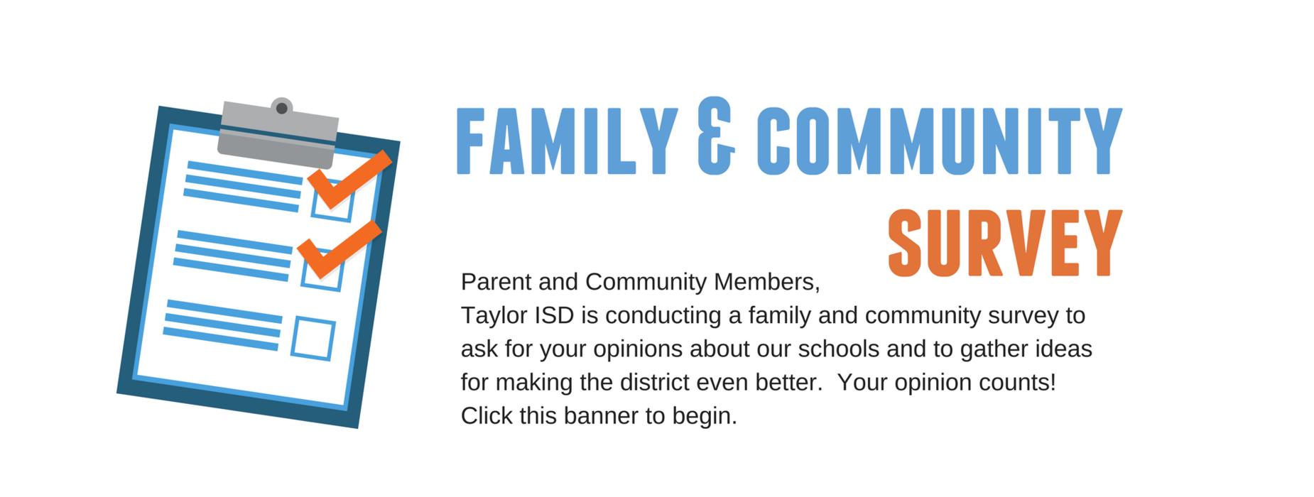 Family and Community Survey