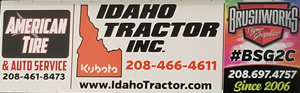 American Tire and Auto Service, Idaho Tractor Inc., BrushWorks