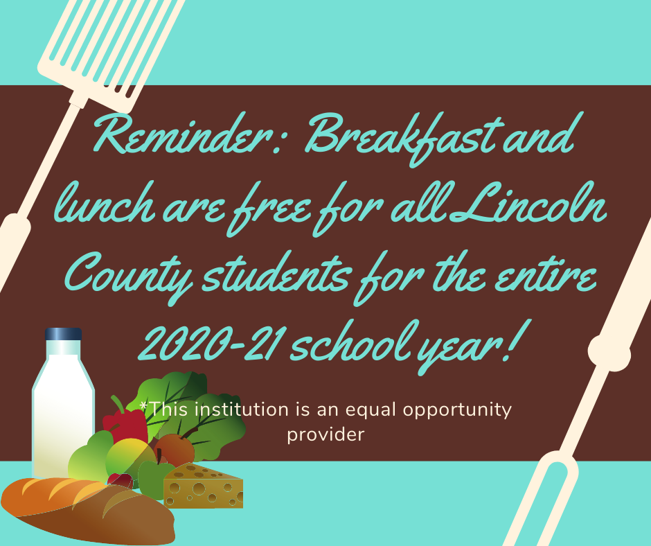 Free Lunch and Breakfast information