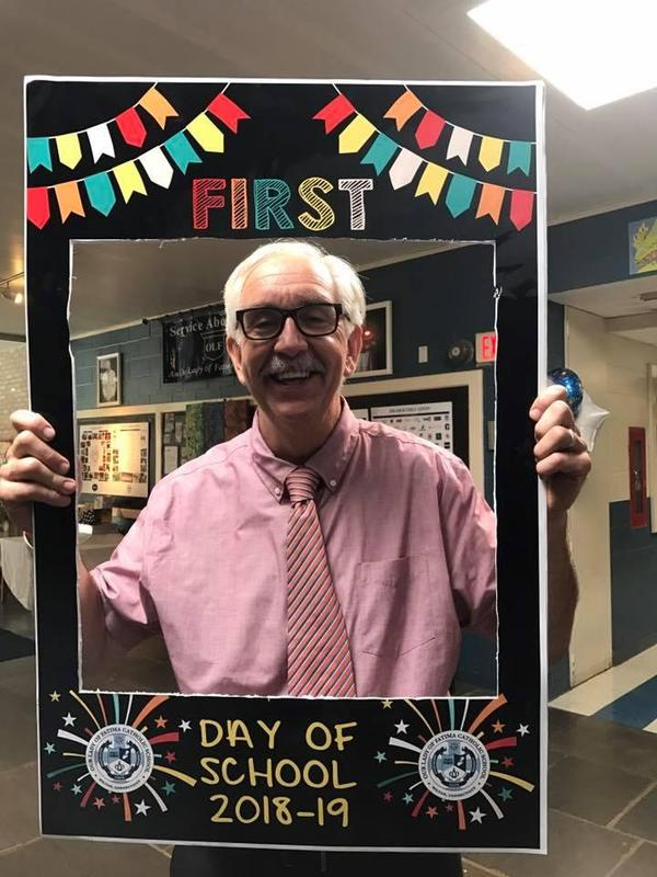 Principal First Day of School