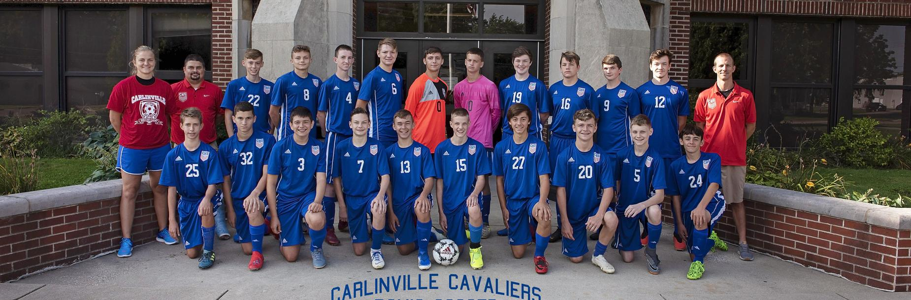 2019-2020 Carlinville High School Boys Soccer Team