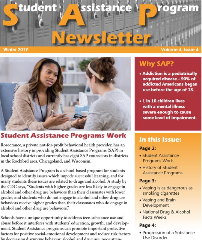 SAP Winter Newsletter Thumbnail Image