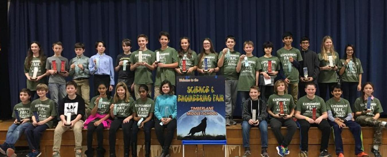 2018 Science and Engineering Fair winners