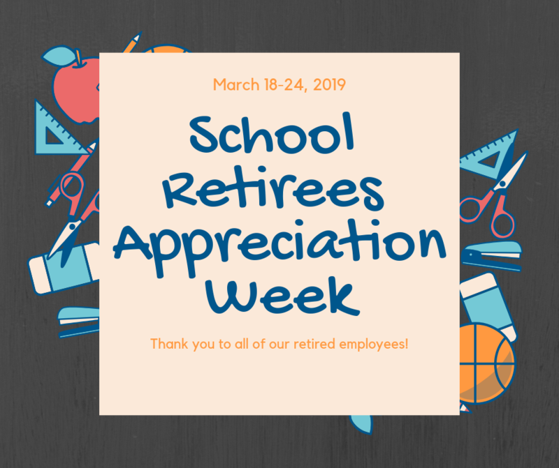 Thank you to all of our Retirees! Thumbnail Image