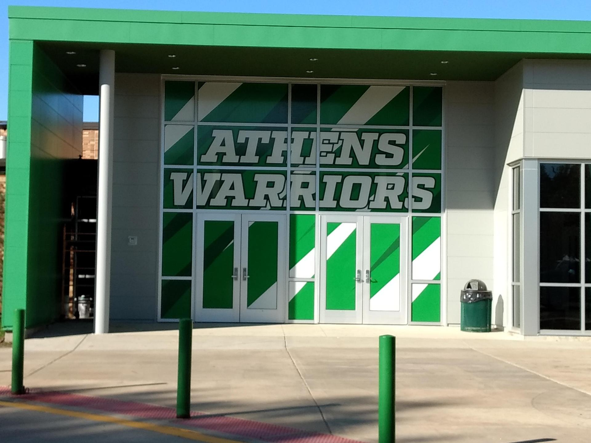AHS entrance
