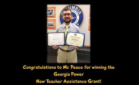 Mr. Peace award