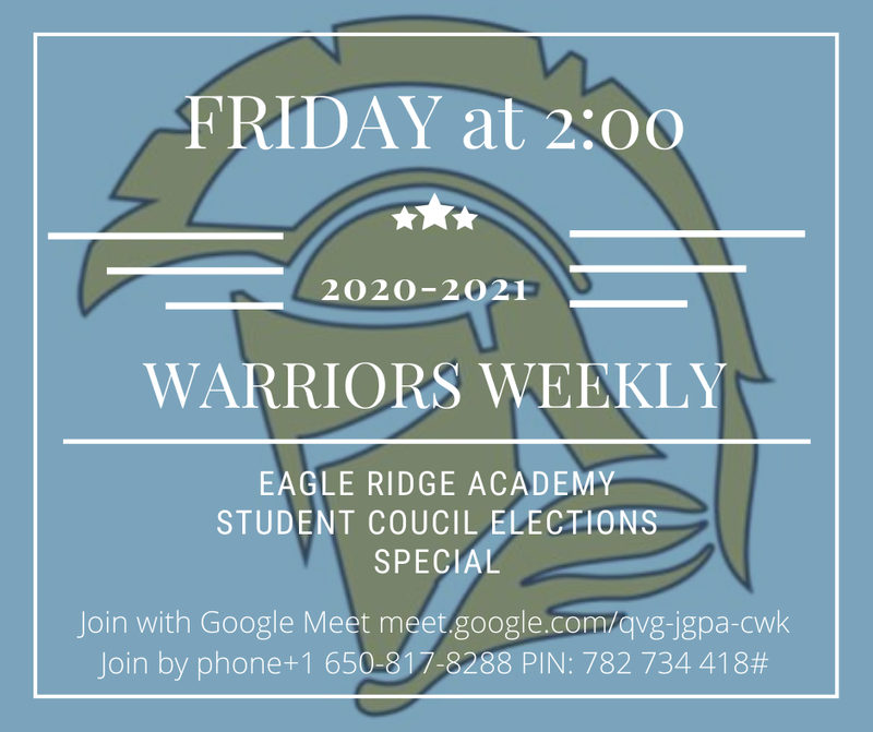 Warrior Weekly Info