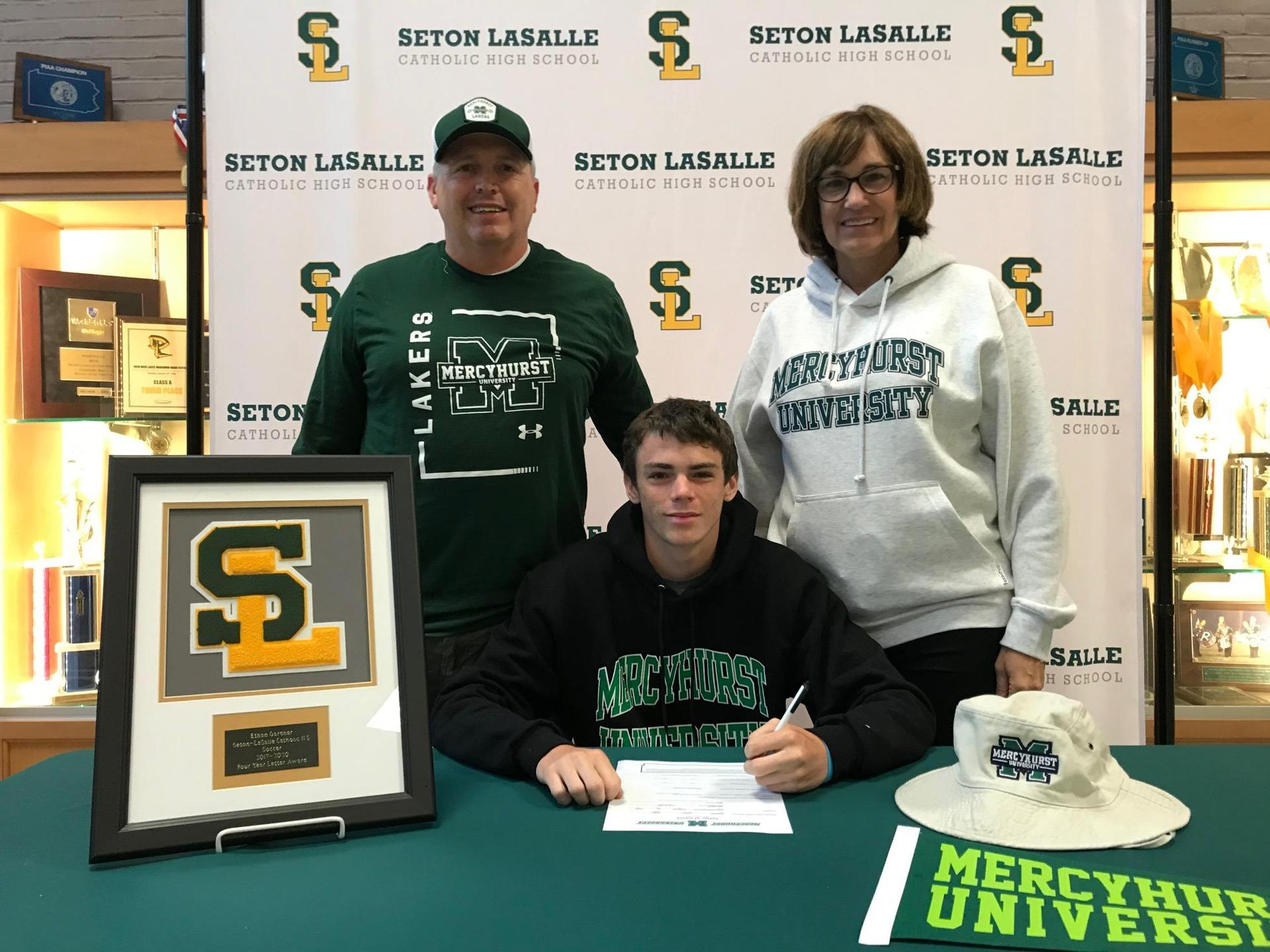 Senior signs letter of intent to play Divison II soccer at Mercyhurst University