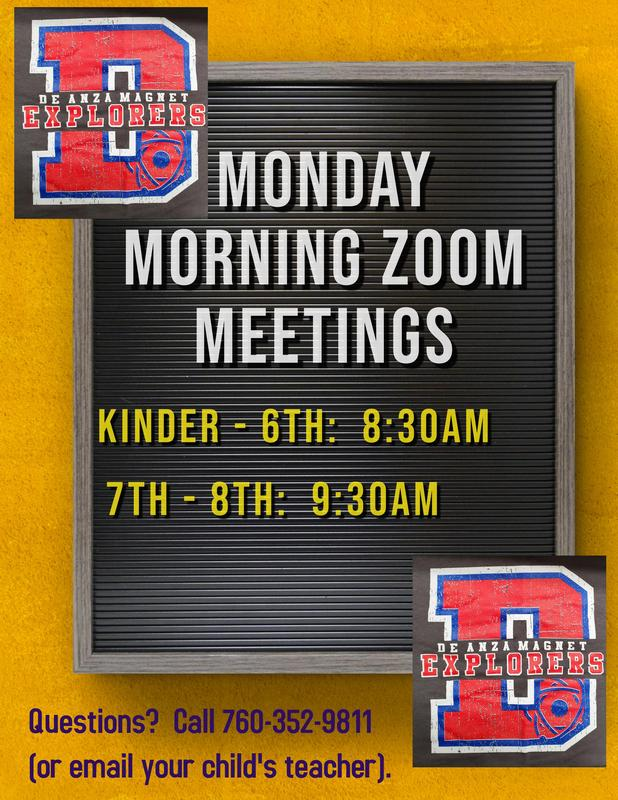 MONDAY MORNING ZOOM SESSIONS Featured Photo
