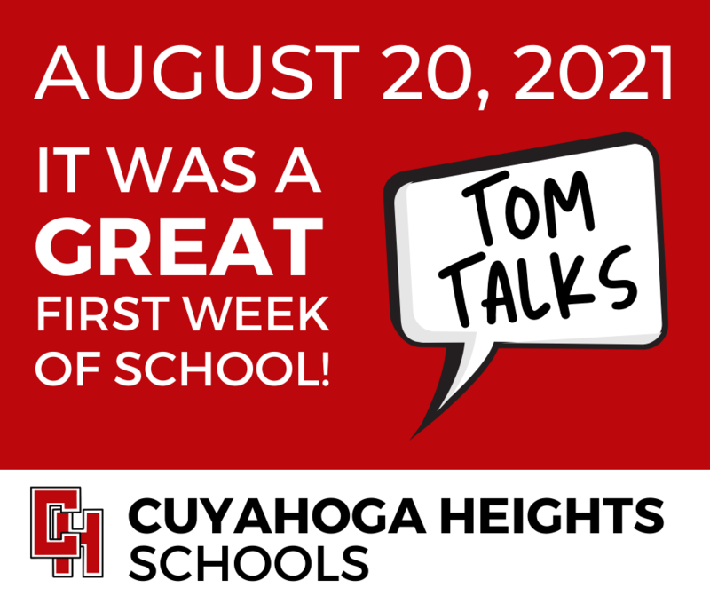 Tom Talks about back to school