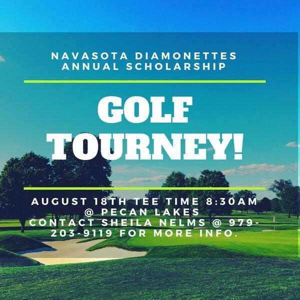 NHS Diamonette Golf Tournament - Sat., Aug. 18 Featured Photo