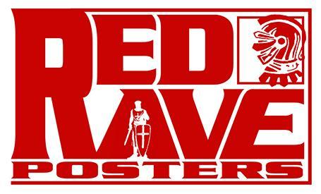 RED RAVE POSTERS logo