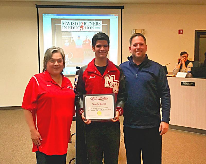 Noah Kuhn National Merit Scholarship