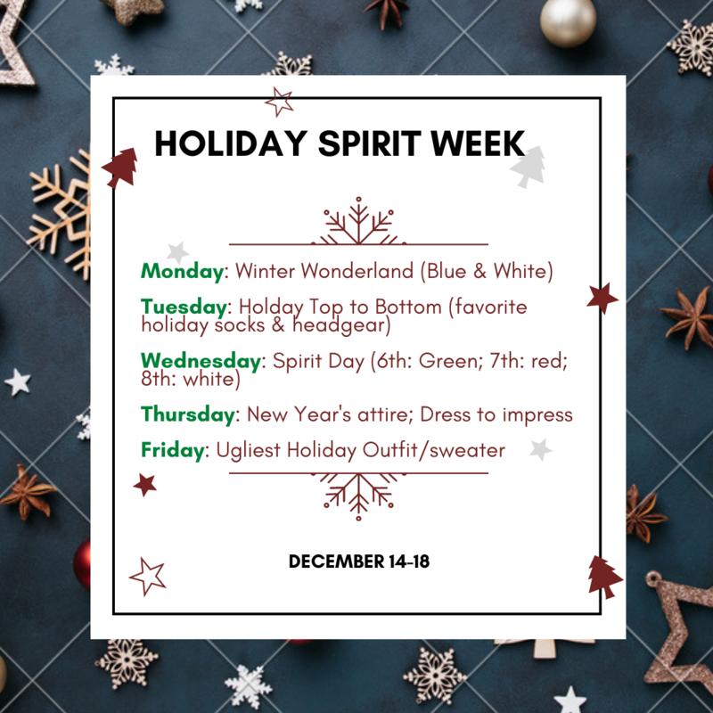 Winter Holiday Spirit Week Featured Photo