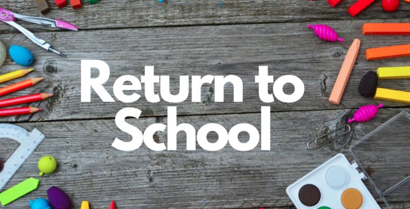 Return to School Featured Photo