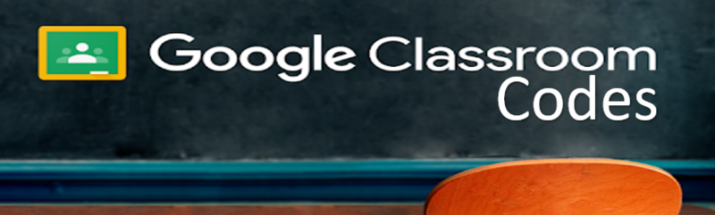 Google classroom codes Featured Photo