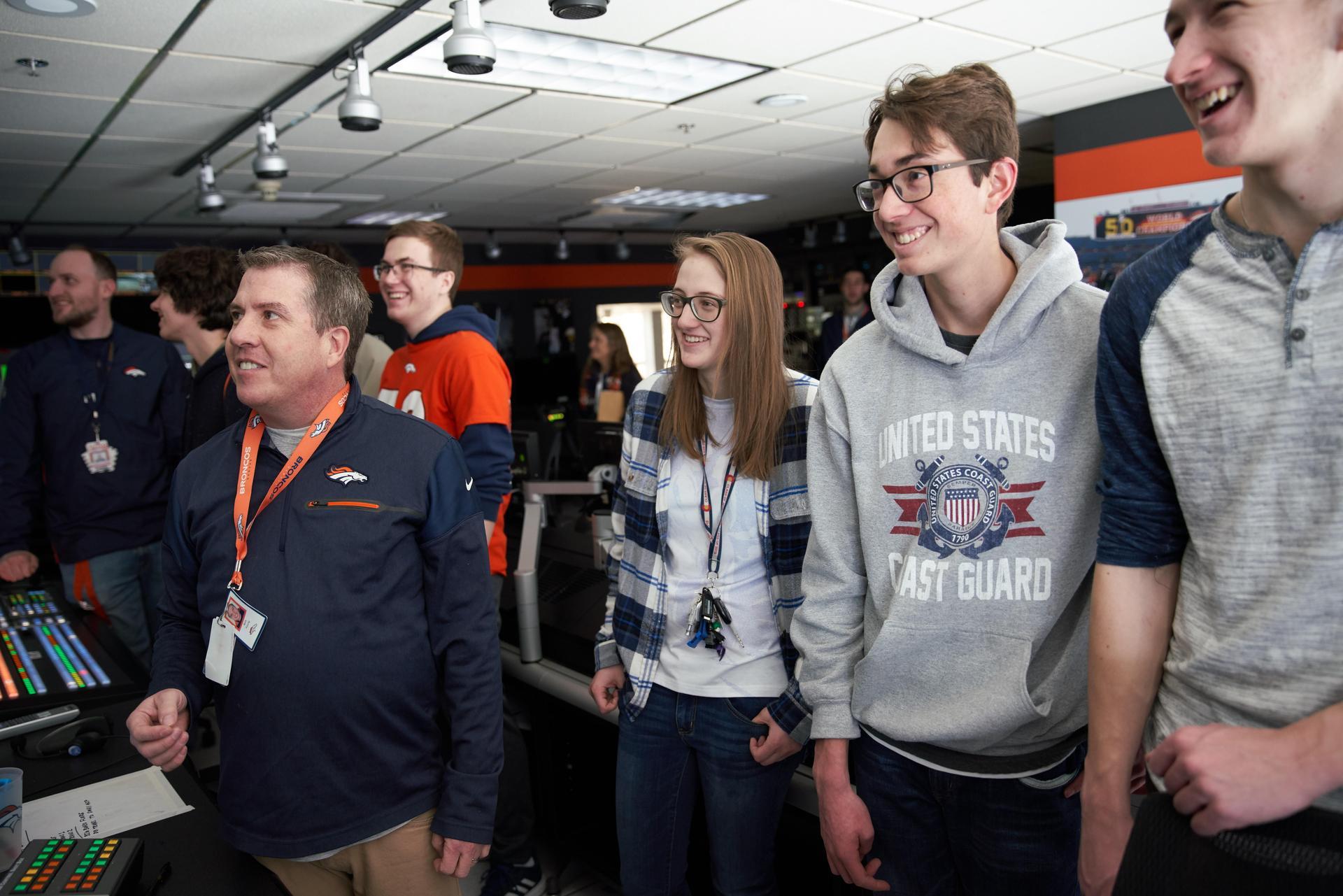 Inside Broncos control room 2