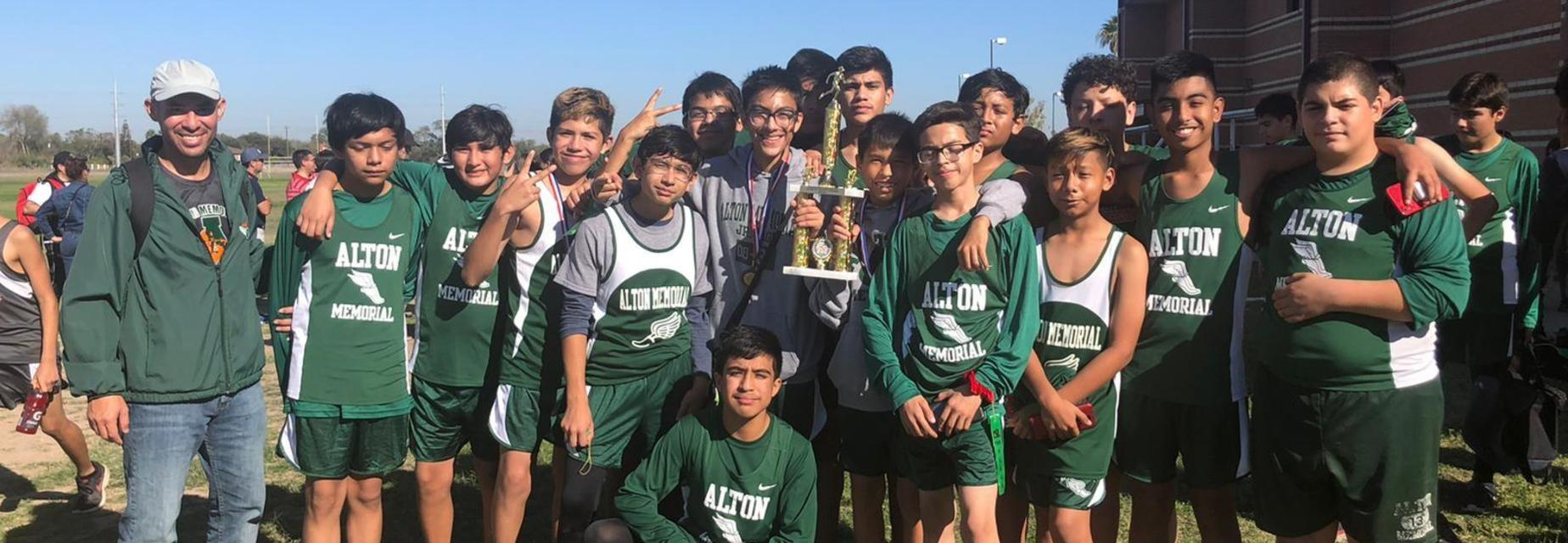 2019 7th Grade Boys Cross Country District Champions!