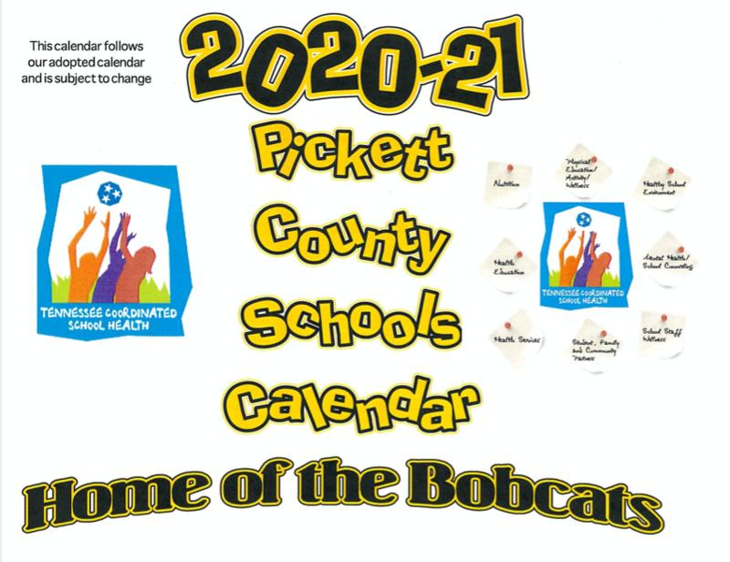 2020-2021 Printable School Calendar Thumbnail Image