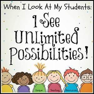 Unlimited possibilities when I see my kids.