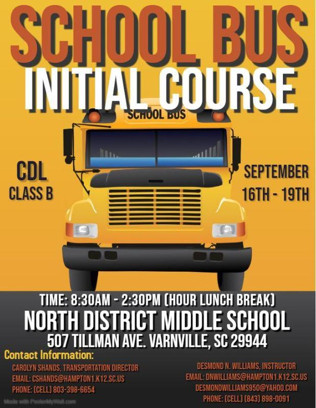 School Bus Initial Course