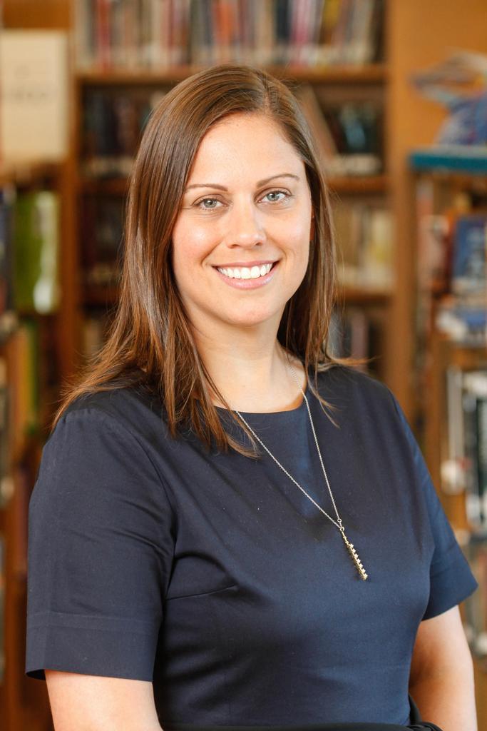 Assistant Principal Natalie Garfield