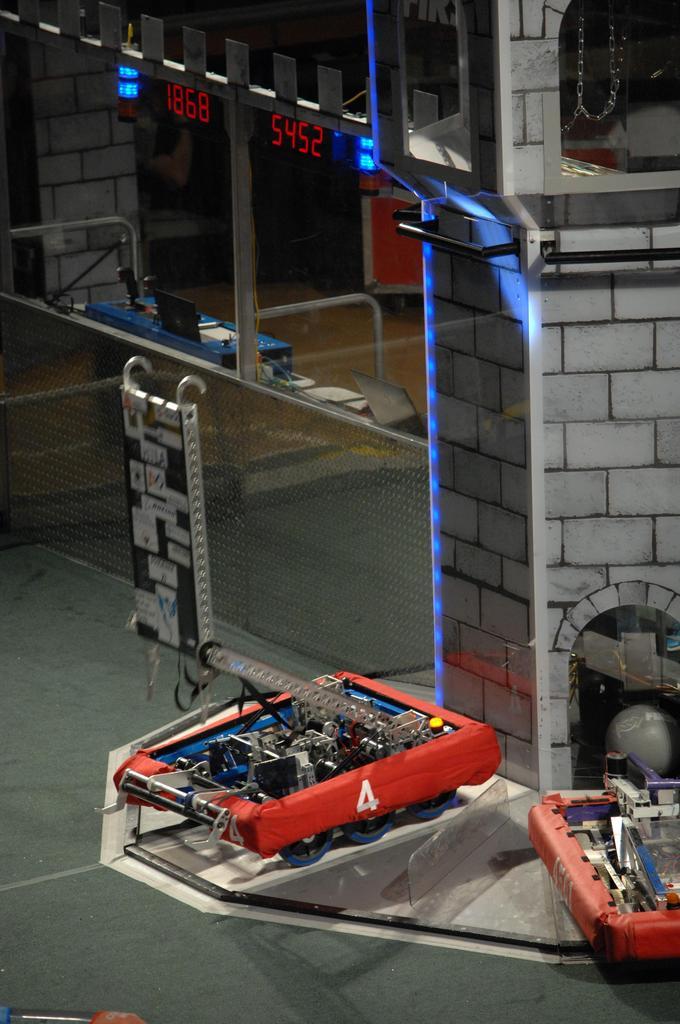 Robot reaching up