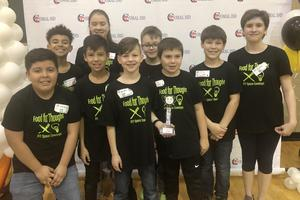 FLL KRES Space Cowboys team