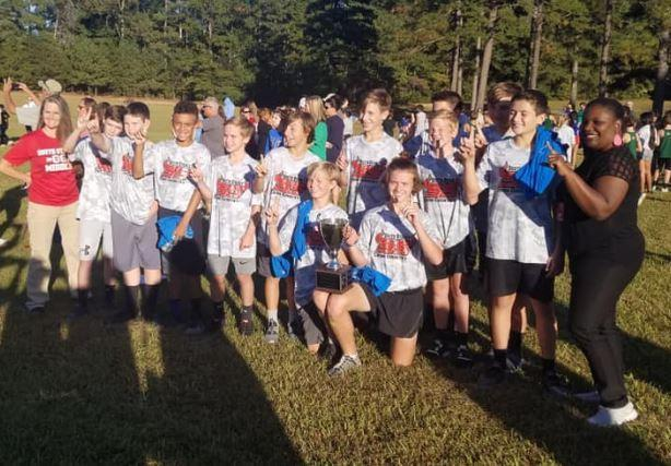 SSMS Boys Cross-Country are Conference Champs Featured Photo