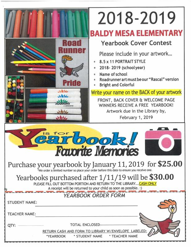 Yearbook Cover Contest and Order Form Featured Photo