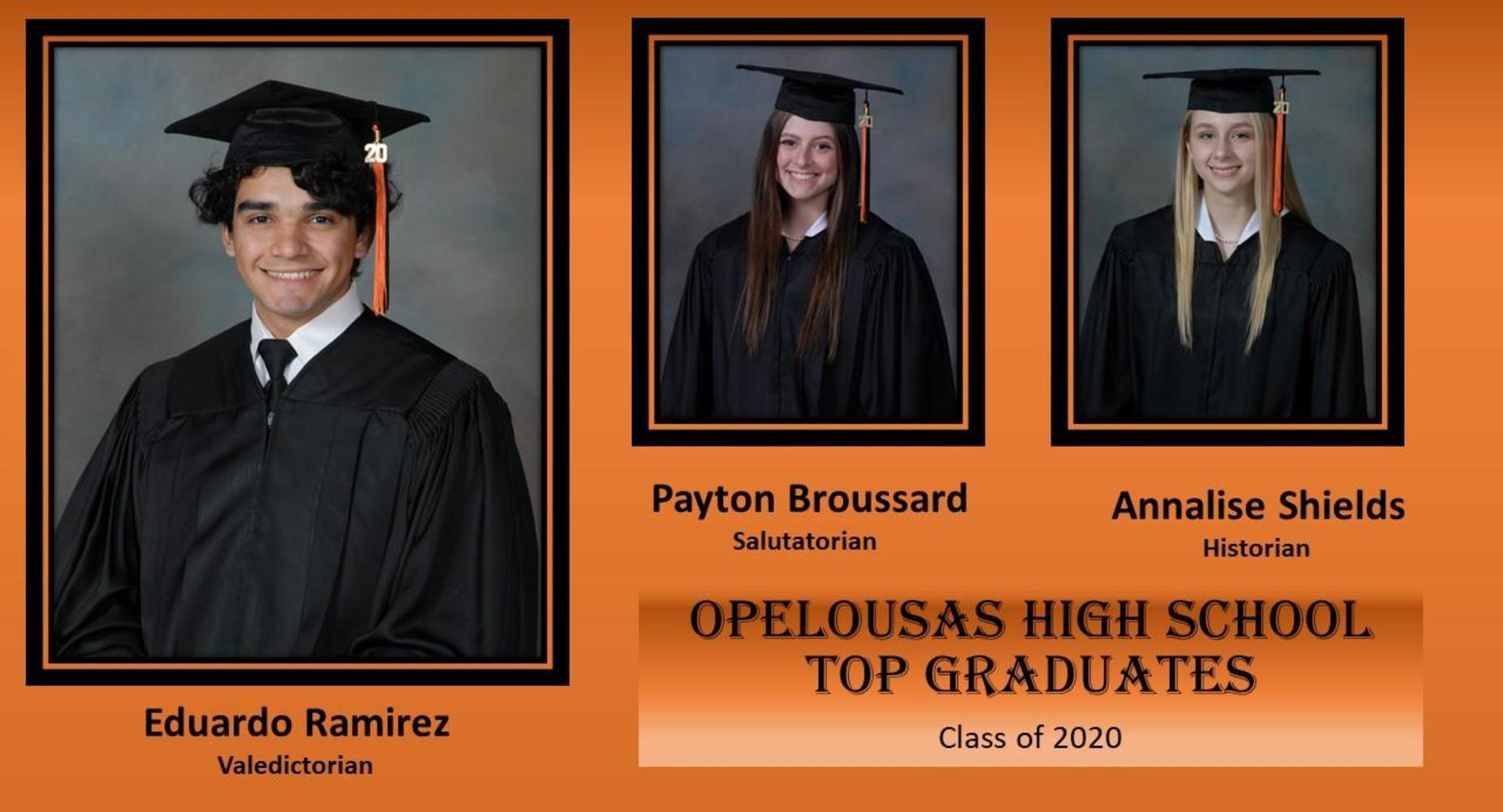 OHS 2020 Top Grads