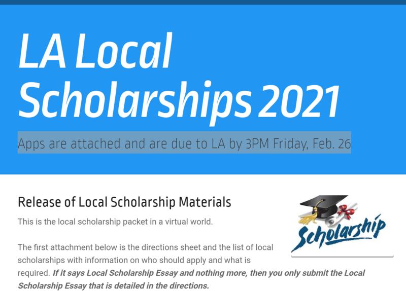 Local Scholarships