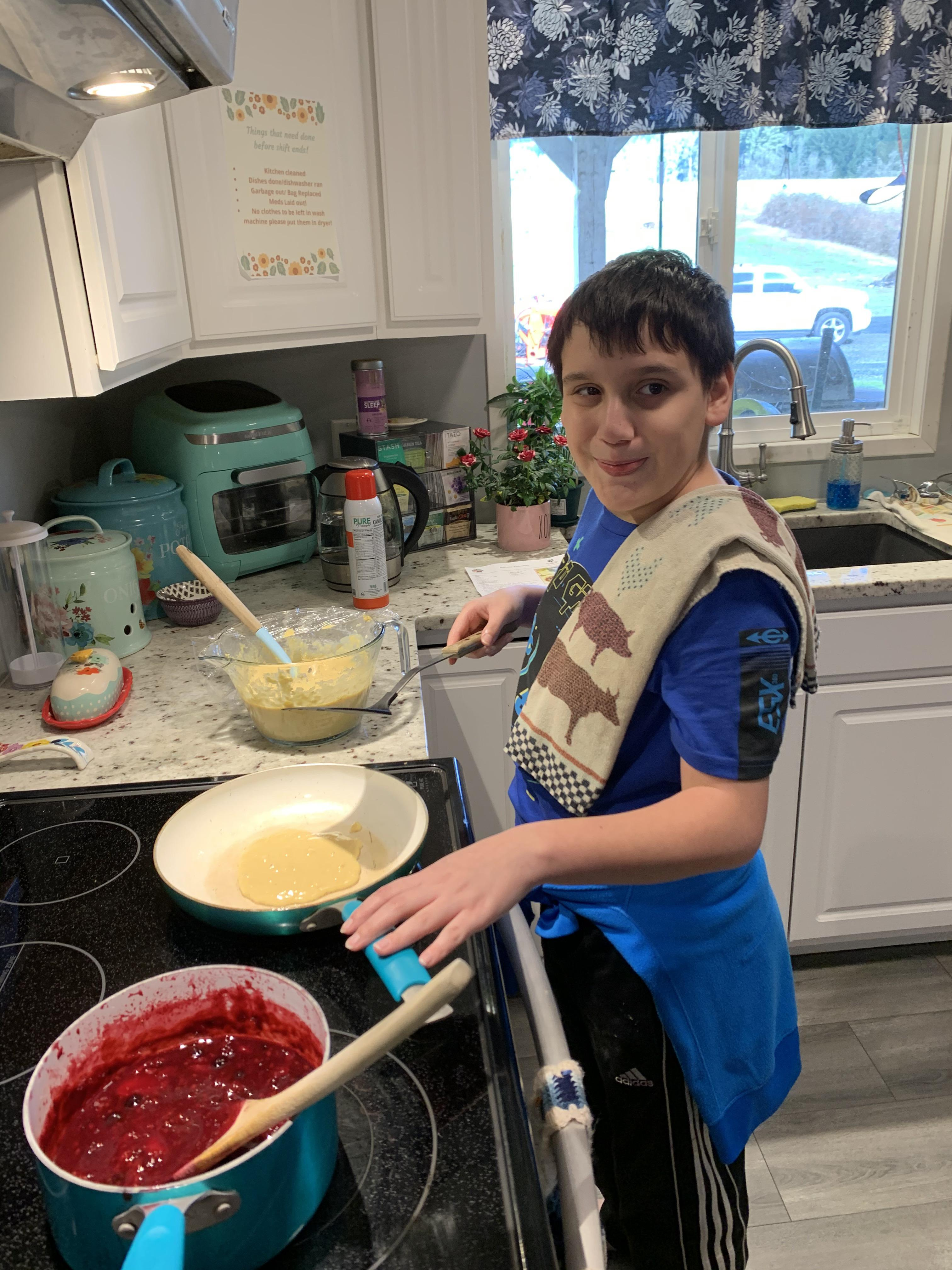 Middle School Cooking Class Featured Photo