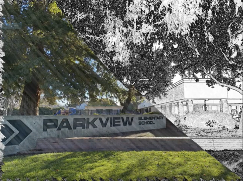 Image of Parkview Elementary School sign