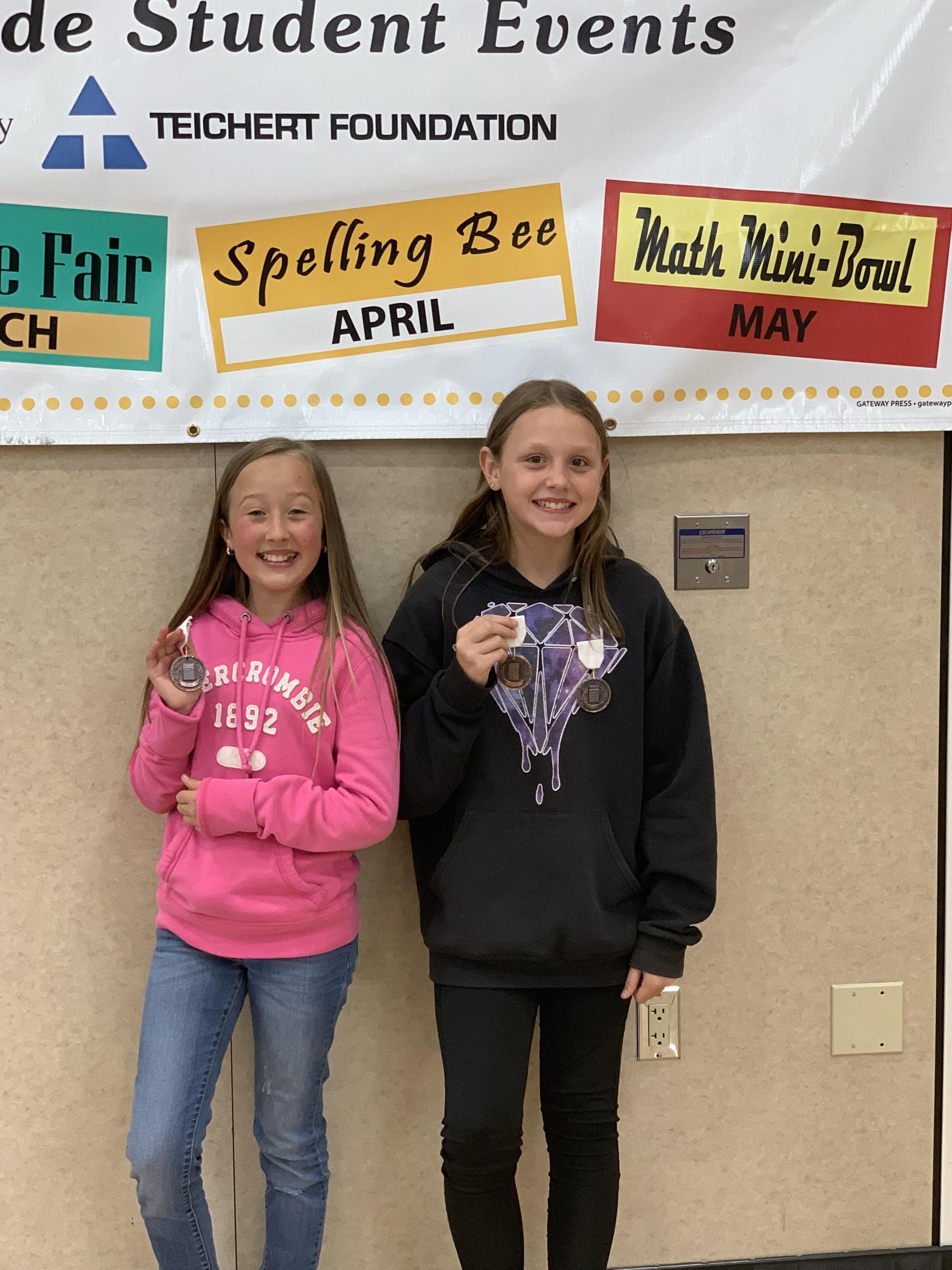 5th grade huddle winners