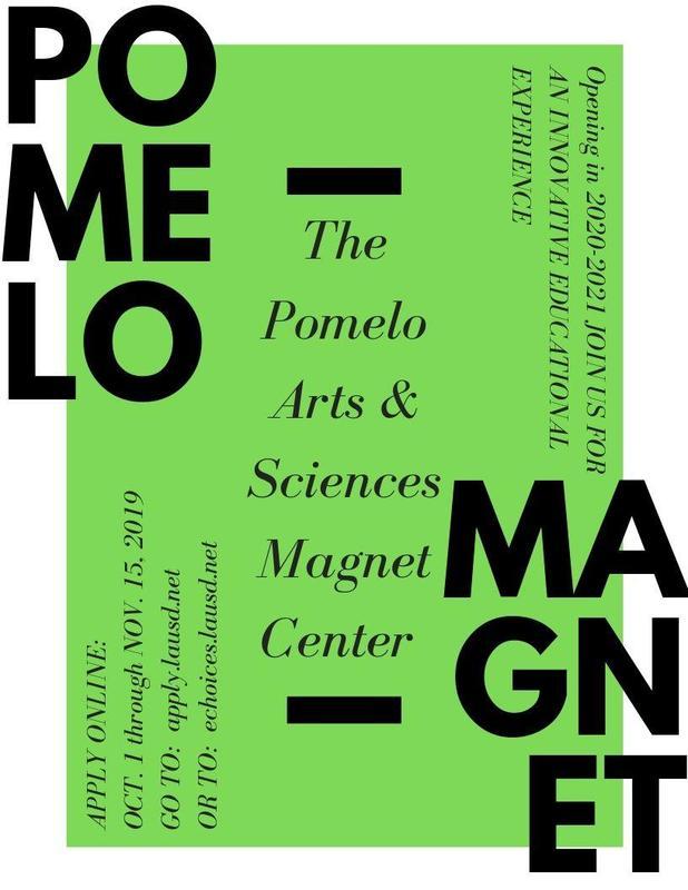 Announcing the POMELO Arts & Sciences Magnet Center Thumbnail Image