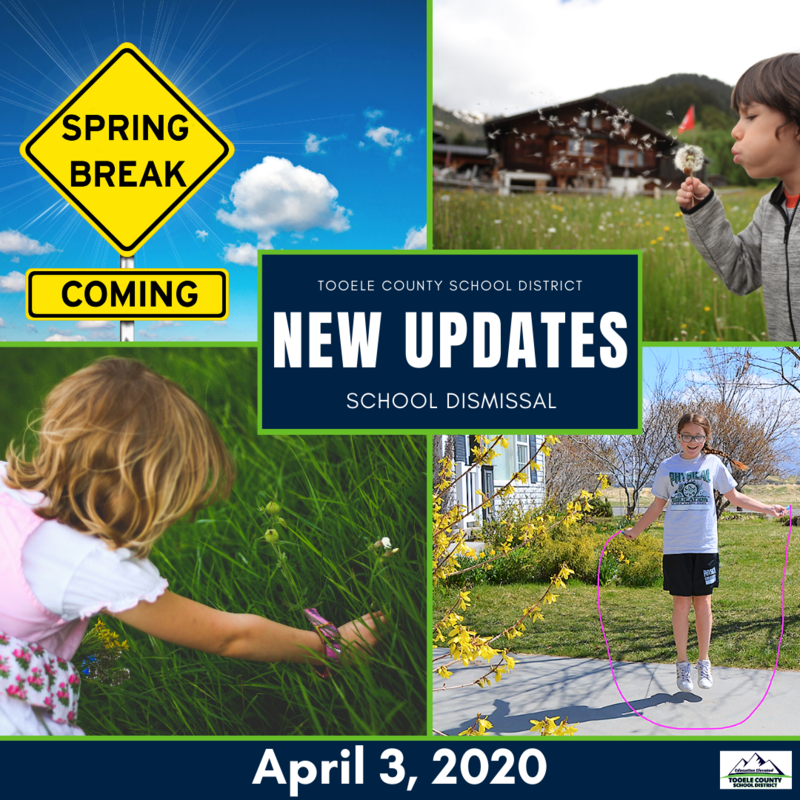School Dismissal- New Updates, April 3, 2020 Thumbnail Image