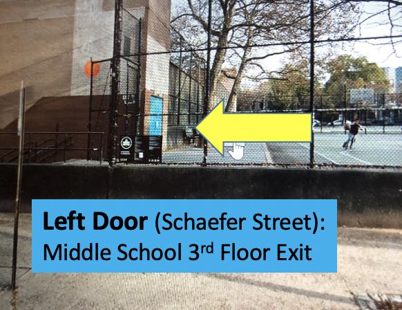 Schaefer Street 3rd Floor Exit