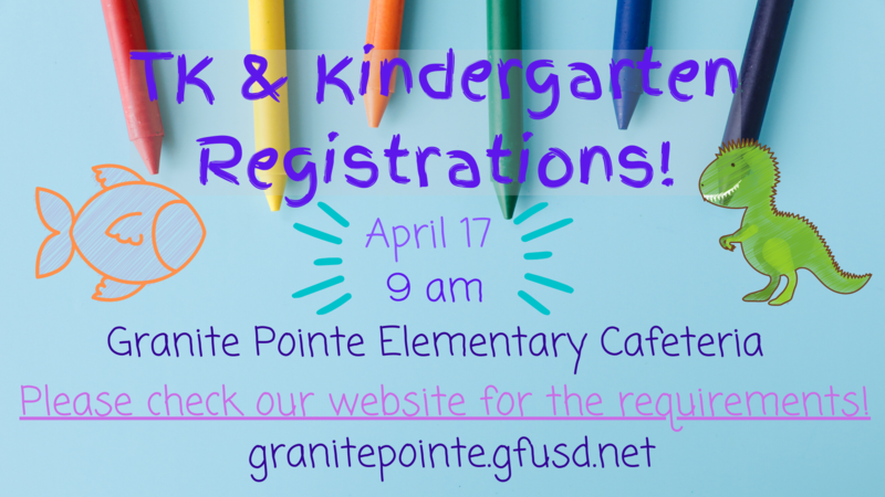 TK and Kinder Registrations! // Inscripciones TK y Kinder! Thumbnail Image