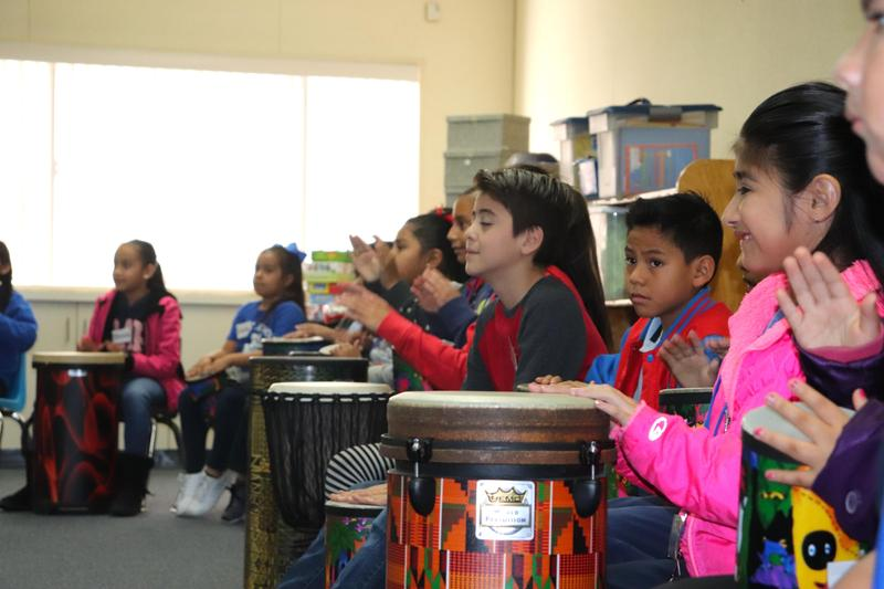 Caribbean Drum Circle Classes Come To Los Altos Elementary Featured Photo
