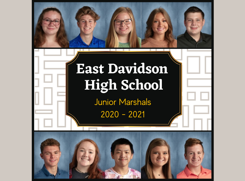 EDHS Junior Marshals 2020-2021