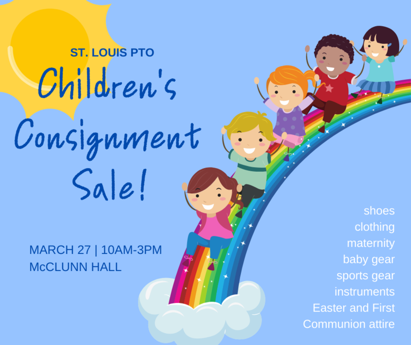 PTO Spring Consignment Sale - March 27, 10am-3pm Featured Photo