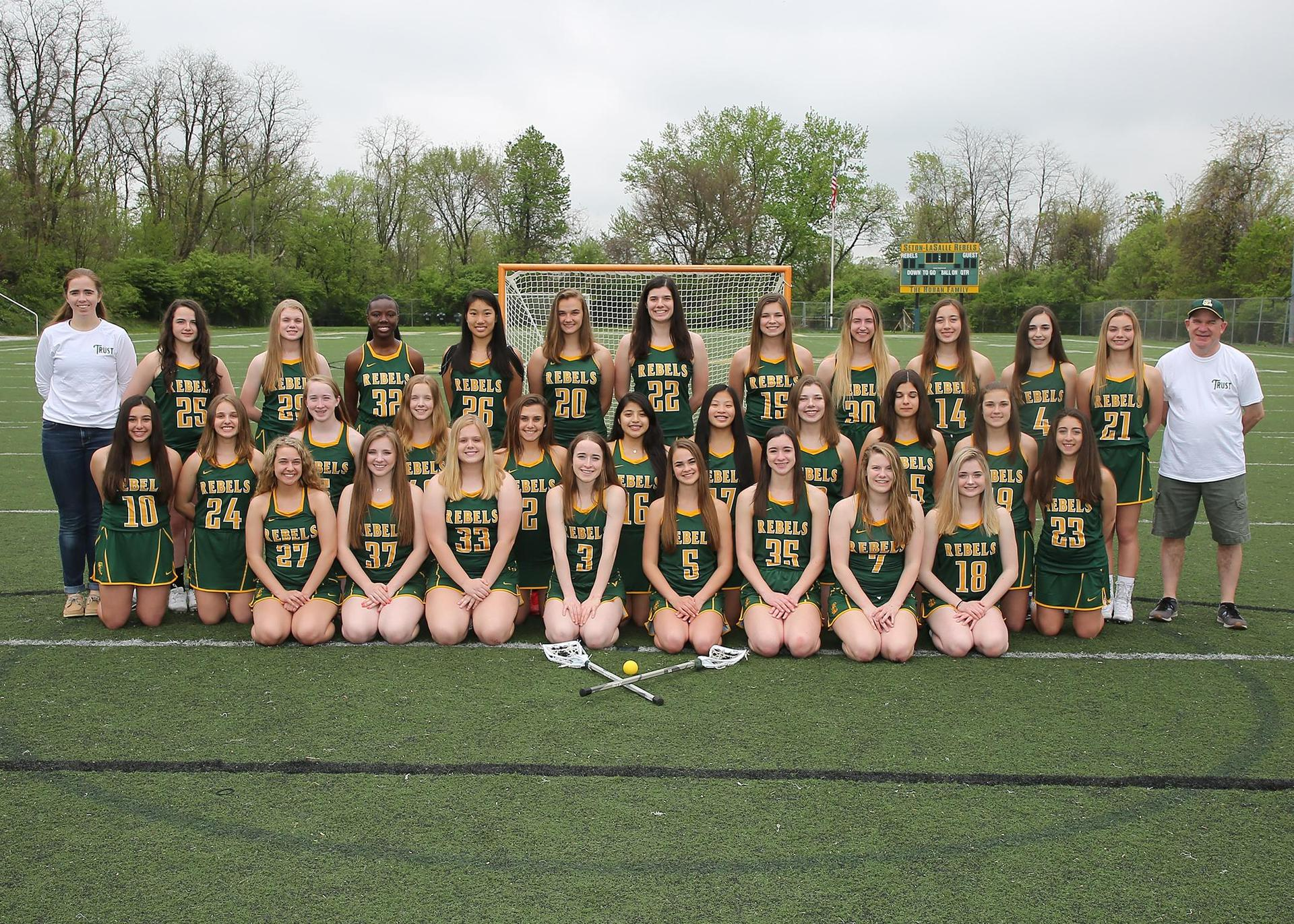 Girls Lacrosse team photo